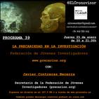 El Cronovisor. Programa 39. La Precariedad en la Investigación. www.precarios.org