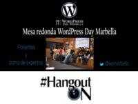 Mesa redonda WordPress Day Marbella 2015