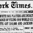 Historia del Béisbol, parte IV: los Black Sox (1919)