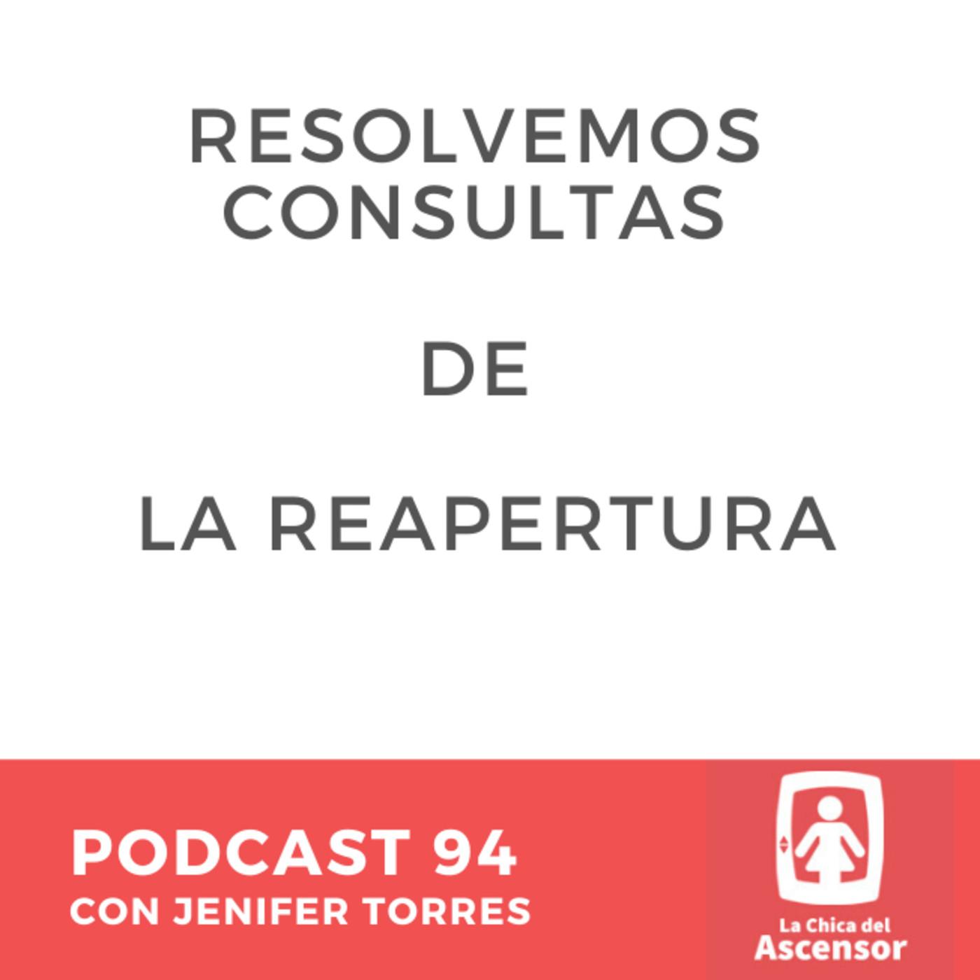 94 - Resolvemos dudas sobre la reapertura del 4 de Mayo