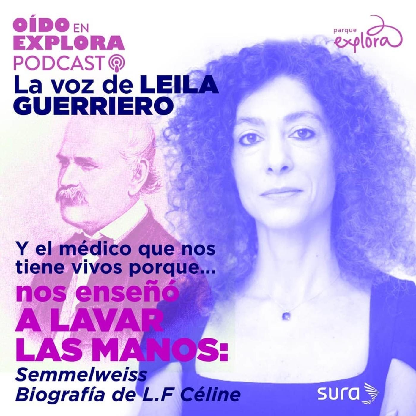 Leila Guerriero lee biografía de Semmelweiss, pionero del lavado de manos