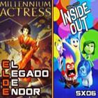 ELDE –Archivo Ligero– Del Revés (Inside Out), Millenium Actress, Jukebox 4 (27 agosto 2015)
