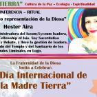 """""""El árbol como representación de la Diosa"""" Hester Aira (MADRE TIERRA - EVENTO GLOBAL)"""
