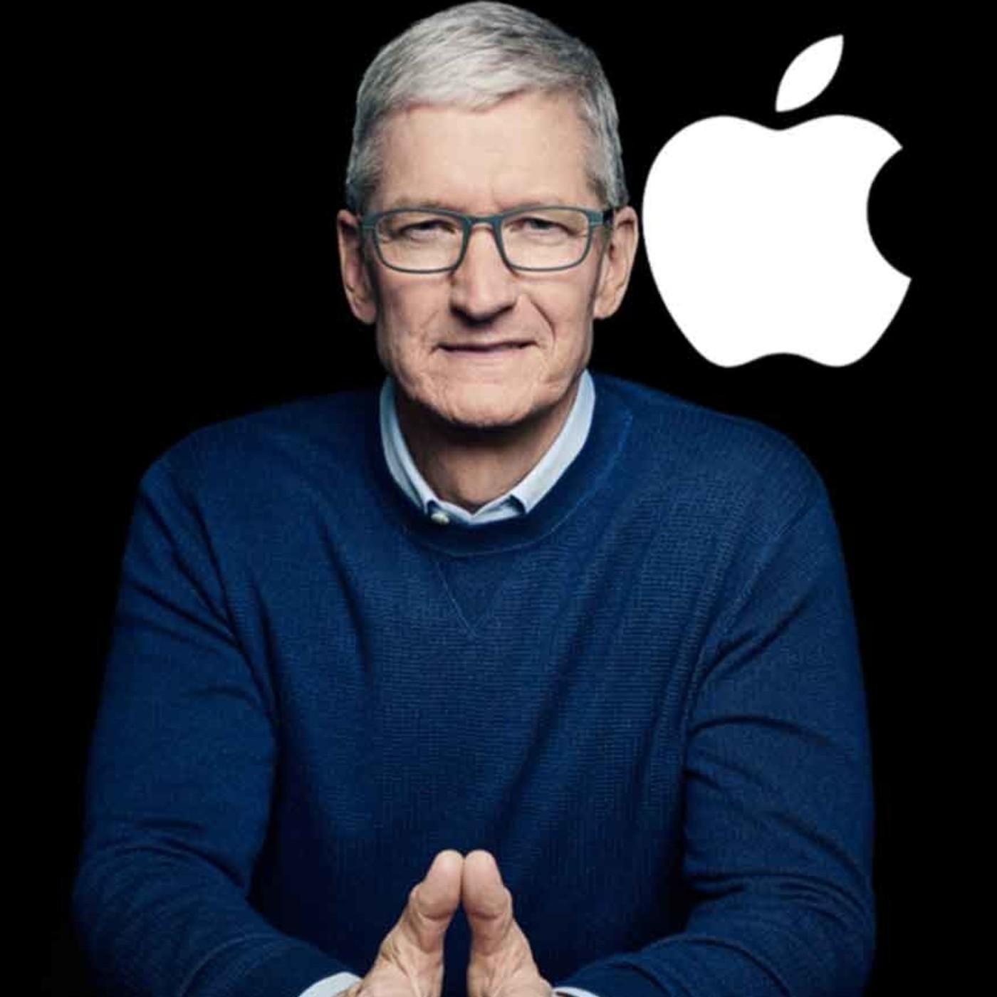 Tim Cook cumple 10 años frente a Apple