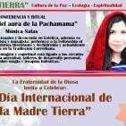 """""""Sanación del aura de la Pachamama"""" Mónica Salas (MADRE TIERRA - EVENTO GLOBAL)"""