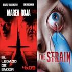 ELDE 3septiembre2014 MAREA ROJA, THE STRAIN la serie