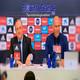 Rueda de Prensa Florentino Pérez y Zinedine Zidane para anunciar su salida del Real Madrid