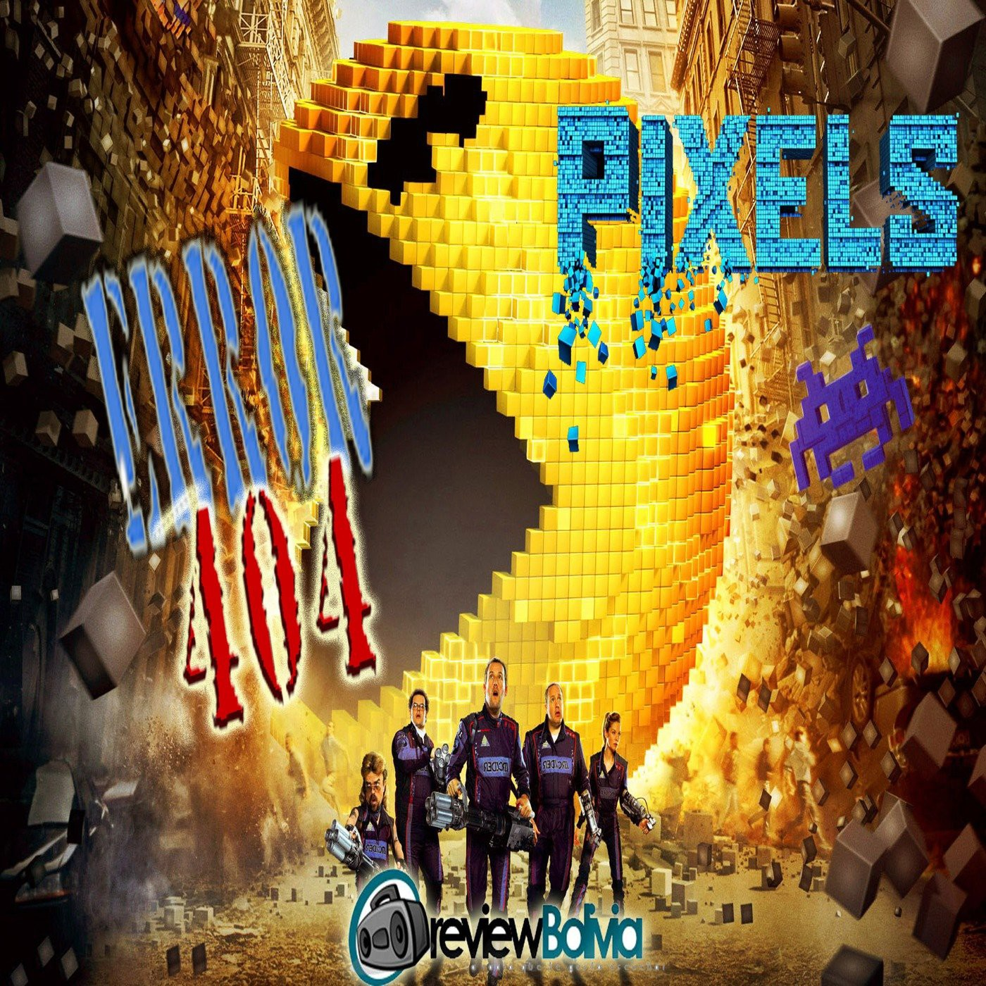 PIXELS The Movie - Error 404 Temp 2-1