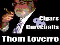 Former MLB Pitcher Dick Bosman with Thom Loverro