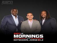 ESPN LA Mornings with Keyshawn, Jorge and LZ HR 2