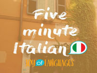 "#46: Mi piace! How to say ""I like"" in Italian."