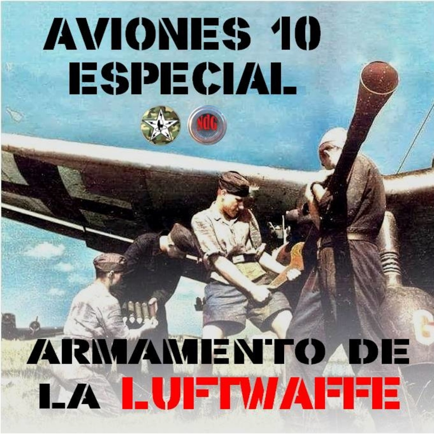 AVIONES 10#ESPECIAL Armas de la Luftwaffe. Crossover con Niebla de Guerra