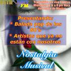 Nostalgia Musical: Balada pop de los 80's. (Parte 1)