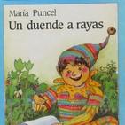 Un duende a rayas, cuento de María Puncel