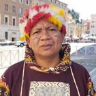 Desde Roma, líder indígena panamazónico pide solidaridad con Ecuador