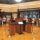 Radio Bilbao, Cdena SER, entrevista a Iñaki Garcia Uribe acerca de su exposición Gorbea en Bilbao