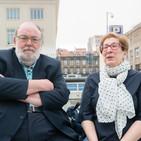 Carmen Burgués e Claudi Alsina, unha vida nas matemáticas