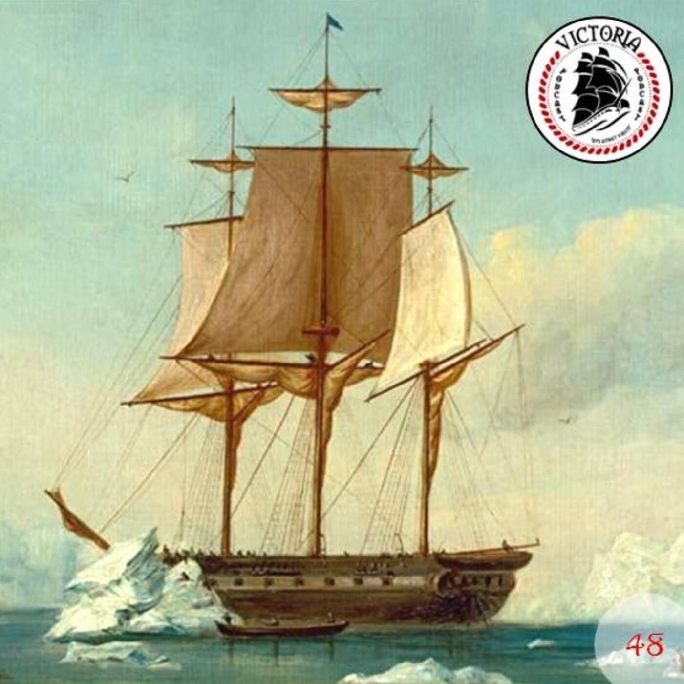 VICTORIA #48 Exploración de la Antártida. La Expedición Wilkes 1838-1842