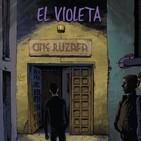 Presentación de el cómic El violeta de Marina Cochet