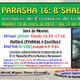 PARASHÁ 16: B'SHALAJ (Después de dejarlos ir)