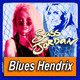 SASS JORDAN · by Blues Hendrix
