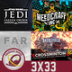 GR (3x33) Todo sobre Star Wars Jedi:Fallen Order, Weedcraft, Firestorm, eCrossminton, Far: Lone Sails, Battlefront II