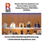 Debate sobre las pensiones con Navarra Suma, Geroa Bai, Unidas Podemos, PSN-PSOE y EH Bildu