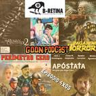 LMG 4x05: Sigue B-Retina 2019. Perímetro Cero, Seventh Curse, Apóstata, Human Centipede 2, Paganini Horror + Masterclass