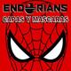 """ENDORIANS """"Capas y Máscaras, el programa de los superhéroes"""" (noviembre 2018)"""