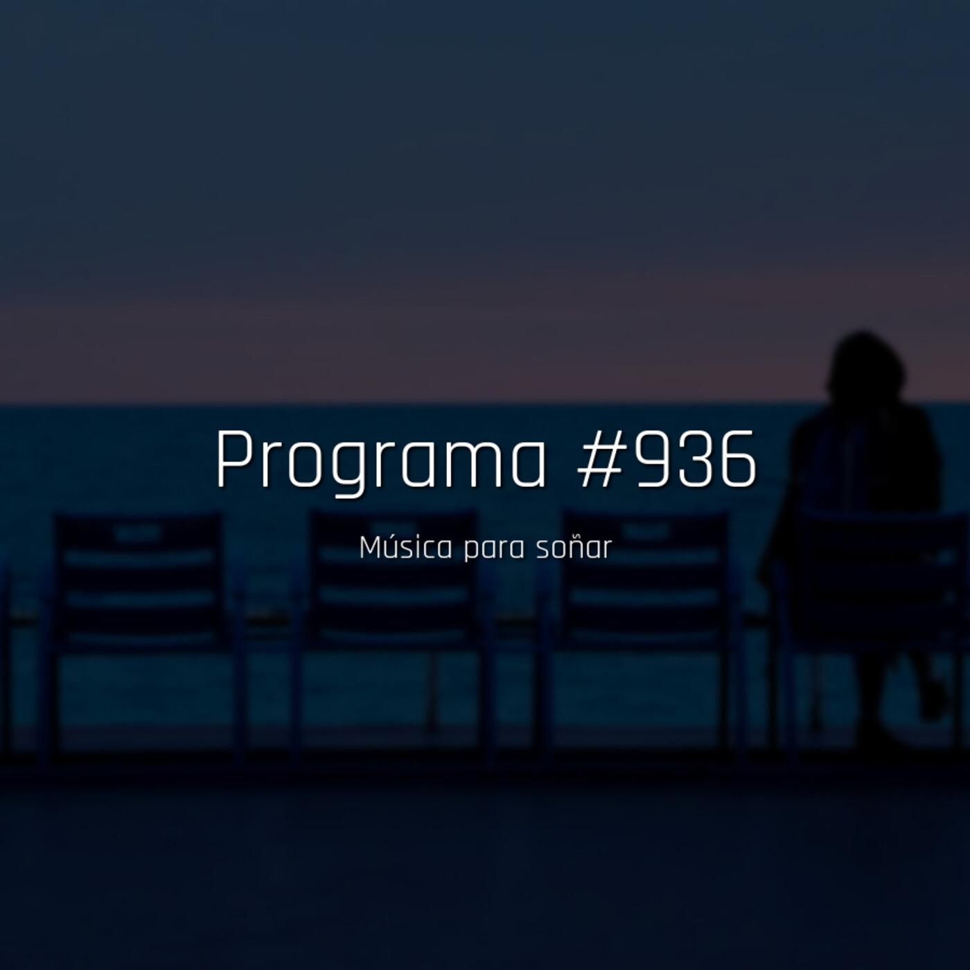 #936, música para soñar