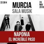 Entrevistamos a los murcianos Naponia, que presentan su segundo EP en la Sala Musik de Murcia este sábado 24