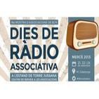 Estand de TJ a la 18a Mostra d'Associacions de BCN - Programa de 7 de Ràdio
