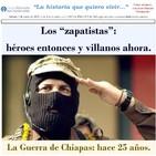 25 años del EZLN y la guerra de Chiapas.