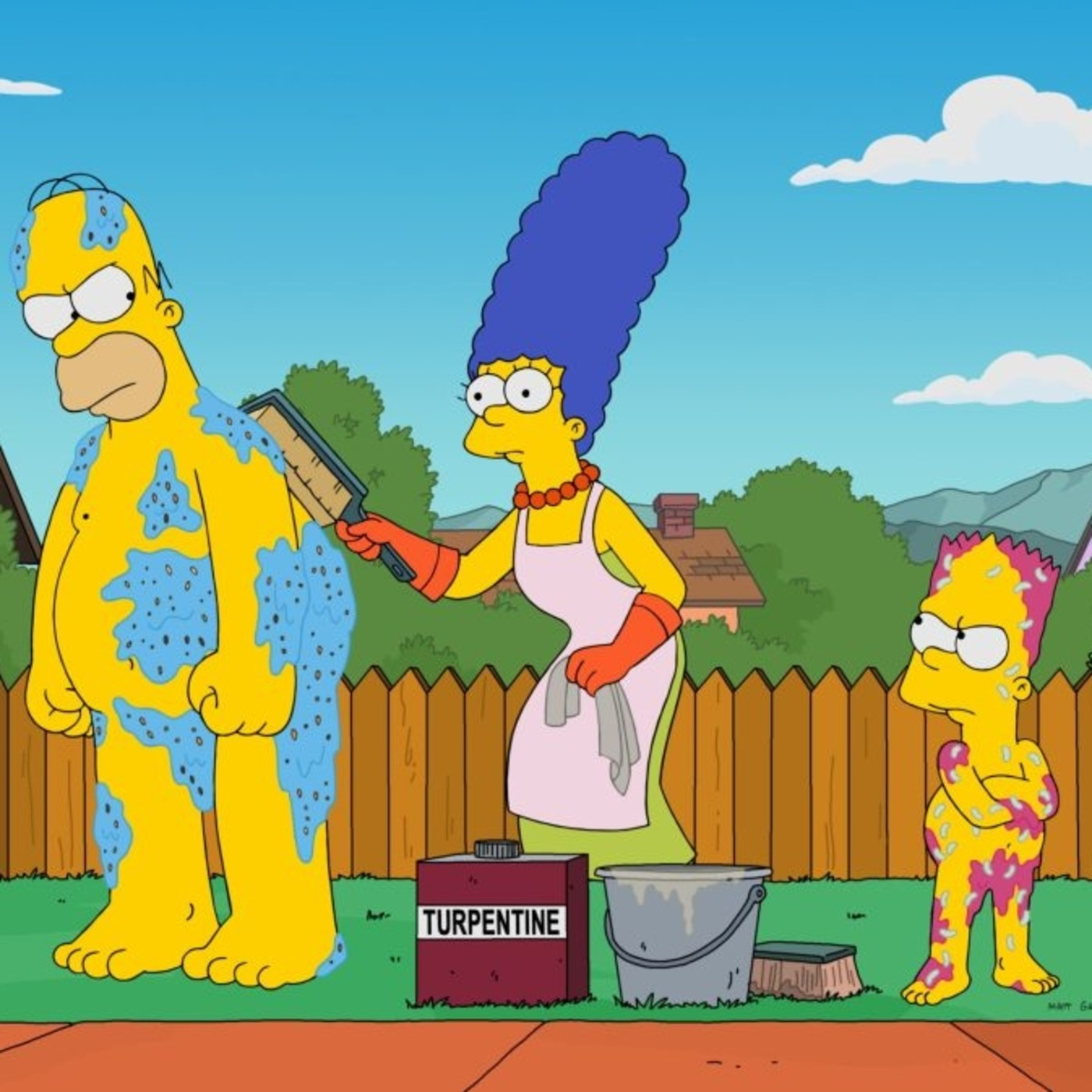 Los Simpson T 19 ep. 12, 13, 14 (2009) #Animación #Comedia #Familia #peliculas #audesc #podcast