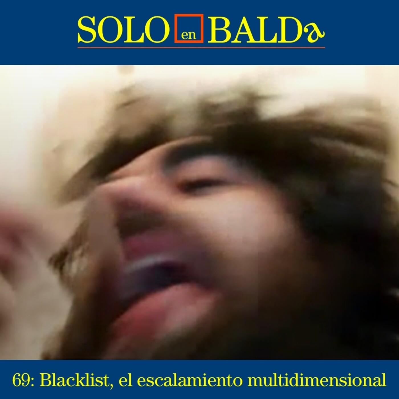 69: Blacklist, el escalamiento multidimensional