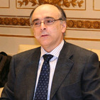 El presidente de Euskaltzaindia, Andrés Urrutia, en el 'Tercer grado'