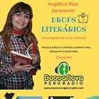 Drops Literários com Angélica Rizzi apresentando Lêdo Ivo