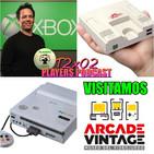 PLAYERS PODAST 2x02. Actualidad Xbox y Playstation. PC Engine Mini. Nintendo creó Sony Playstation. Museo Arcade Vintage