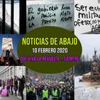Noticias de abajo 10 febrero 2020