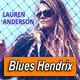 LAUREN ANDERSON · by Blues Hendrix