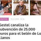 Pepe Sánchez reclama el pago por el trabajo del belén