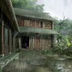 Una hora de suave lluvia