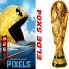 ELDE –Archivo Ligero– crítica PIXELS, el Mundial de los Videojuegos, Jukebox 2 (4 agosto 2015)