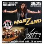 Corsarios / Entrevista 11Bis, recuerdo Manzano y escena catalana - Domingo 7 Abril 2019