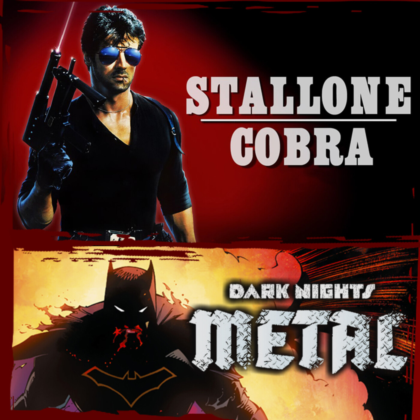 Archivo Ligero LODE 11x04 – Stallone: COBRA, Dark Nights METAL