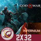 GR (2x32) God of War Análisis y Debate (Sin Spoilers), Infernium Análisis y Entrevista a su autor Carlos Coronado