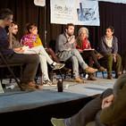 Mesa Redonda debate entre BioAlai, Som Alimentació, A Vecinal y Food Coop BCN