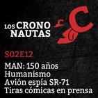 S02E12 - MAN, Humanismo, Avión espía SR71, Tiras cómicas