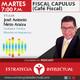 Fiscal Capulus (Último programa del año)