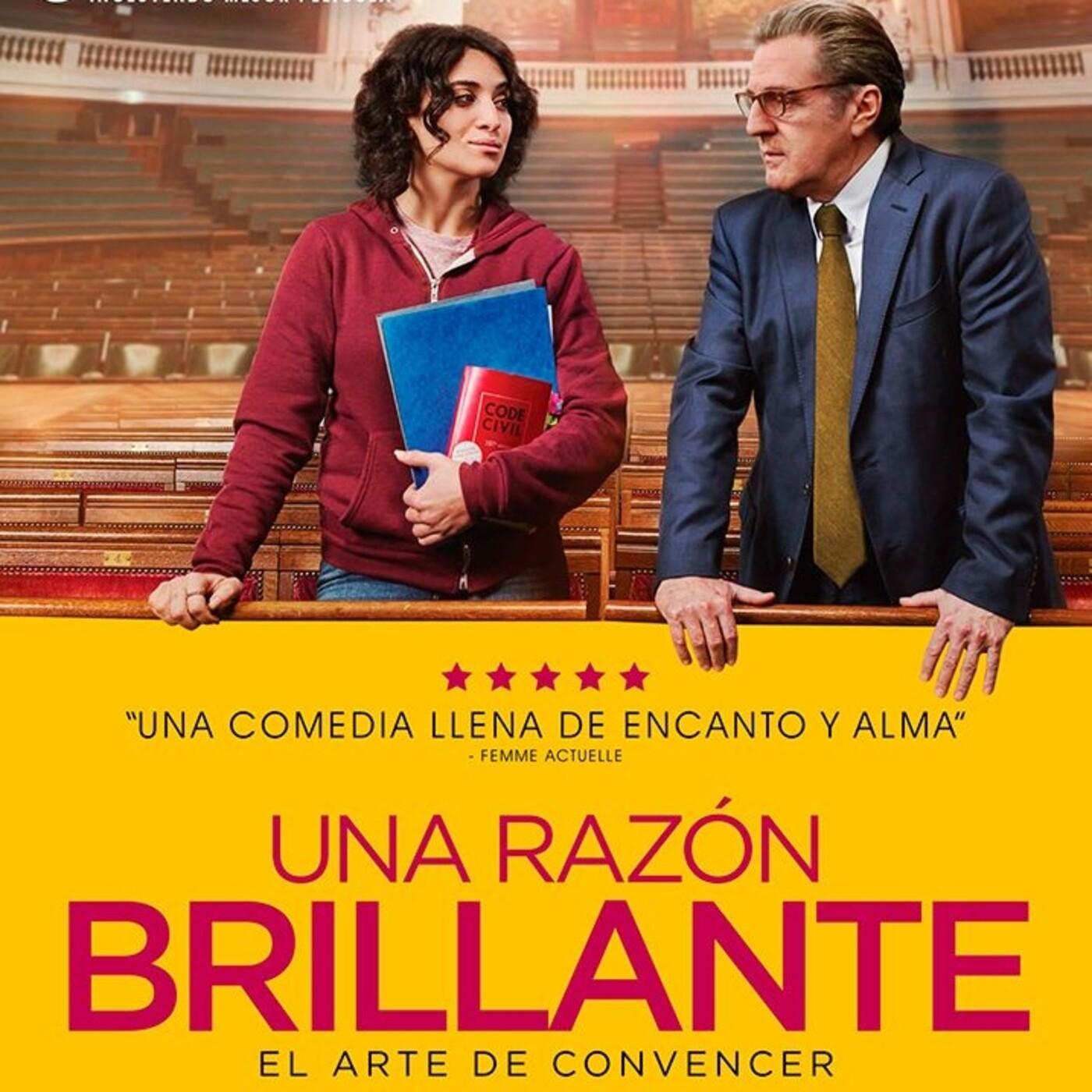 Una Razón Brillante (2017) #Enseñanza #ComediaDramática #peliculas #podcast #audesc